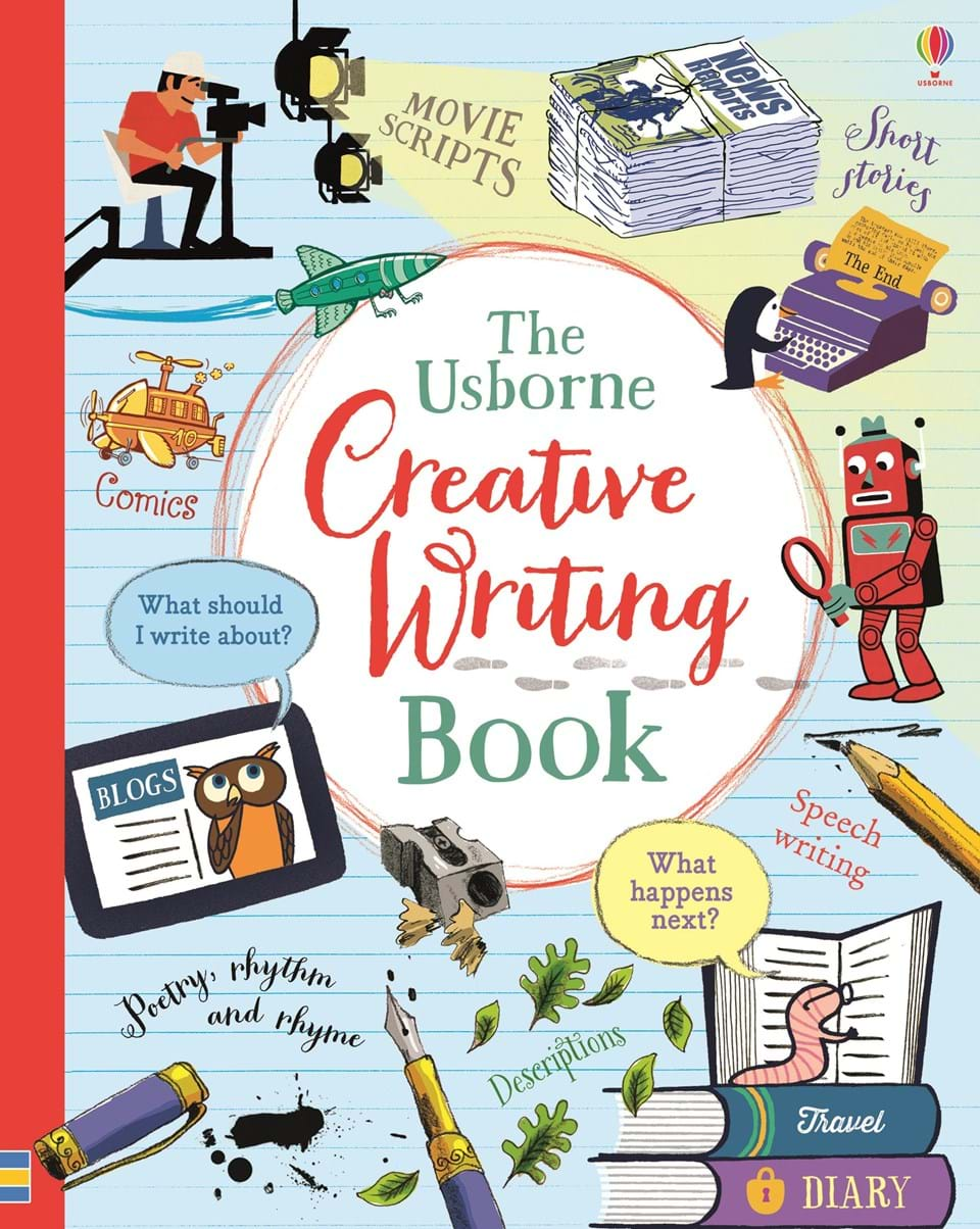 Image result for the creative writing book usborne