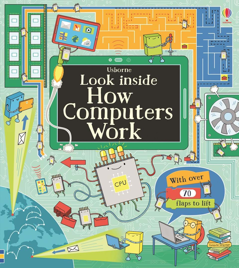 Look inside how computers work at usborne books at home organisers look inside how computers work gumiabroncs Image collections