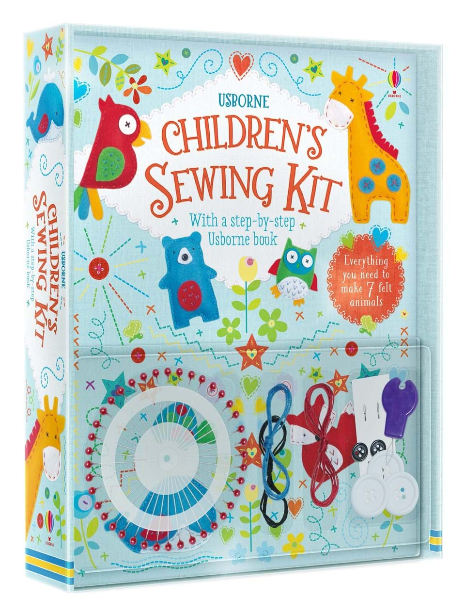 """Book Cover Sewing Kits ~ """"children s sewing kit at usborne children books"""