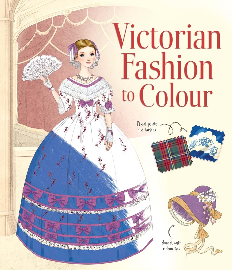 Clothes And Fashion Colouring Books