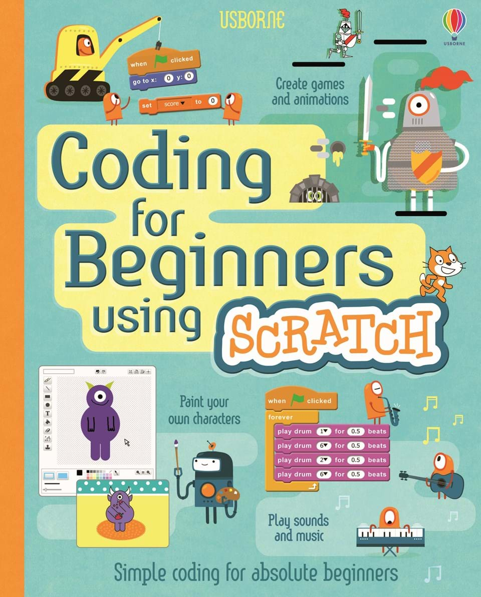 Computer and coding books from usborne coding for beginners using scratch baditri Gallery