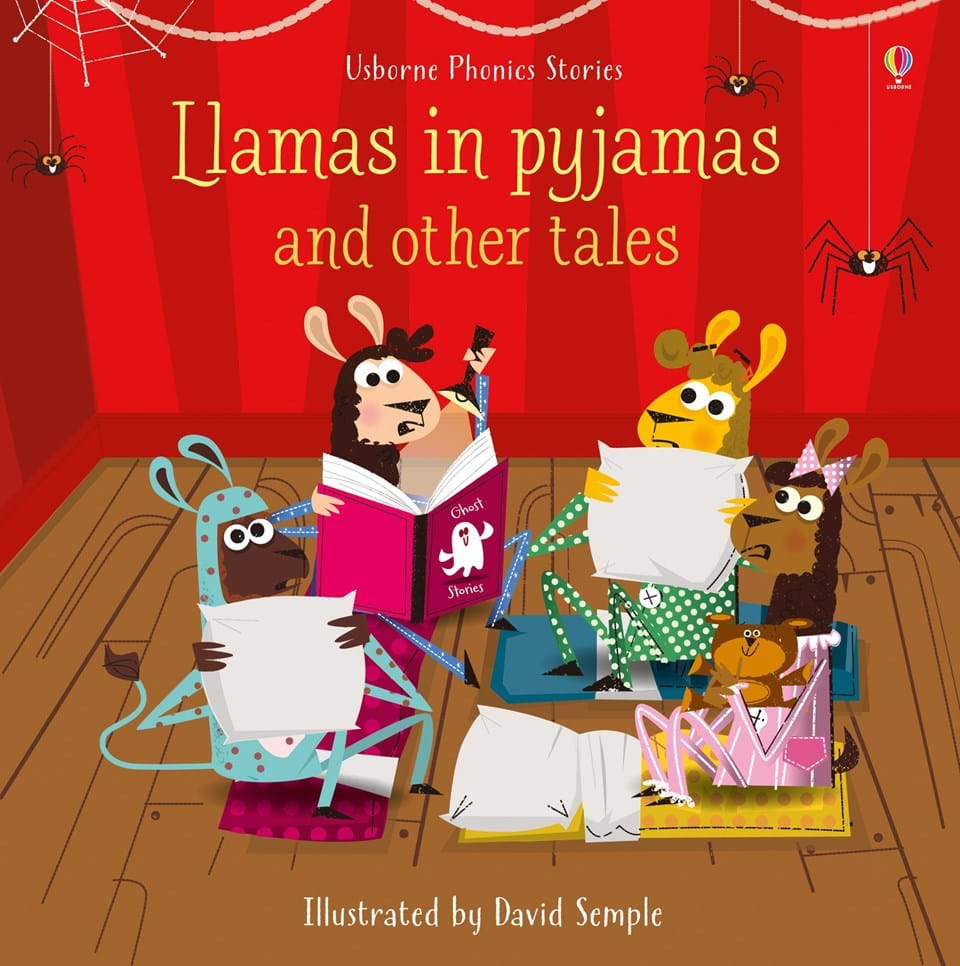 """Llamas in pyjamas and other tales"""" at Usborne Books at Home"""