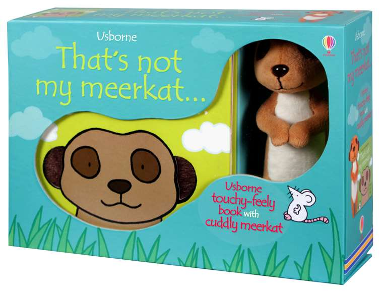 Thats Not My Meerkat Book And Toy At Usborne Childrens Books