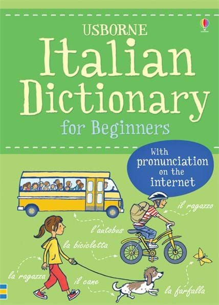 "Italian dictionary for beginners"" at Usborne Children's Books"