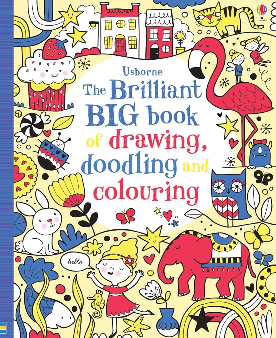 "The brilliant big book of drawing, doodling and colouring"" at ..."