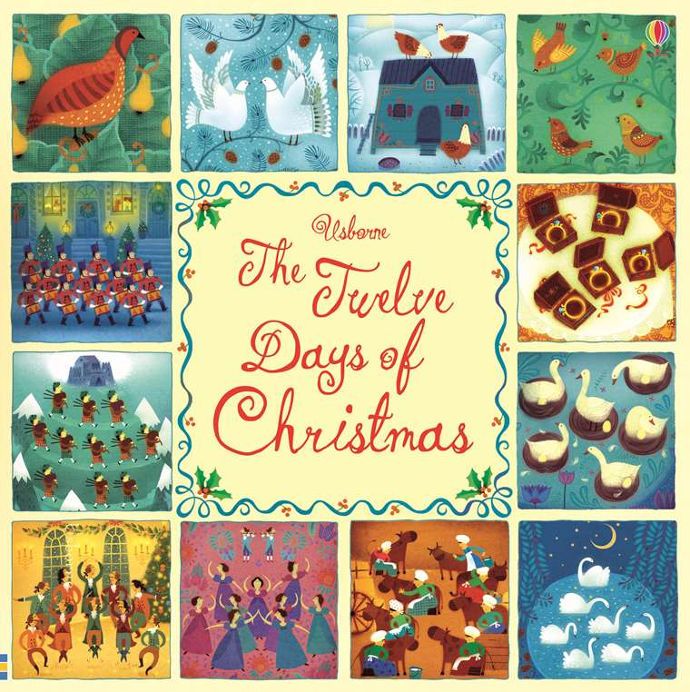 Twelve Days Of Christmas Book.The Twelve Days Of Christmas At Usborne Children S Books
