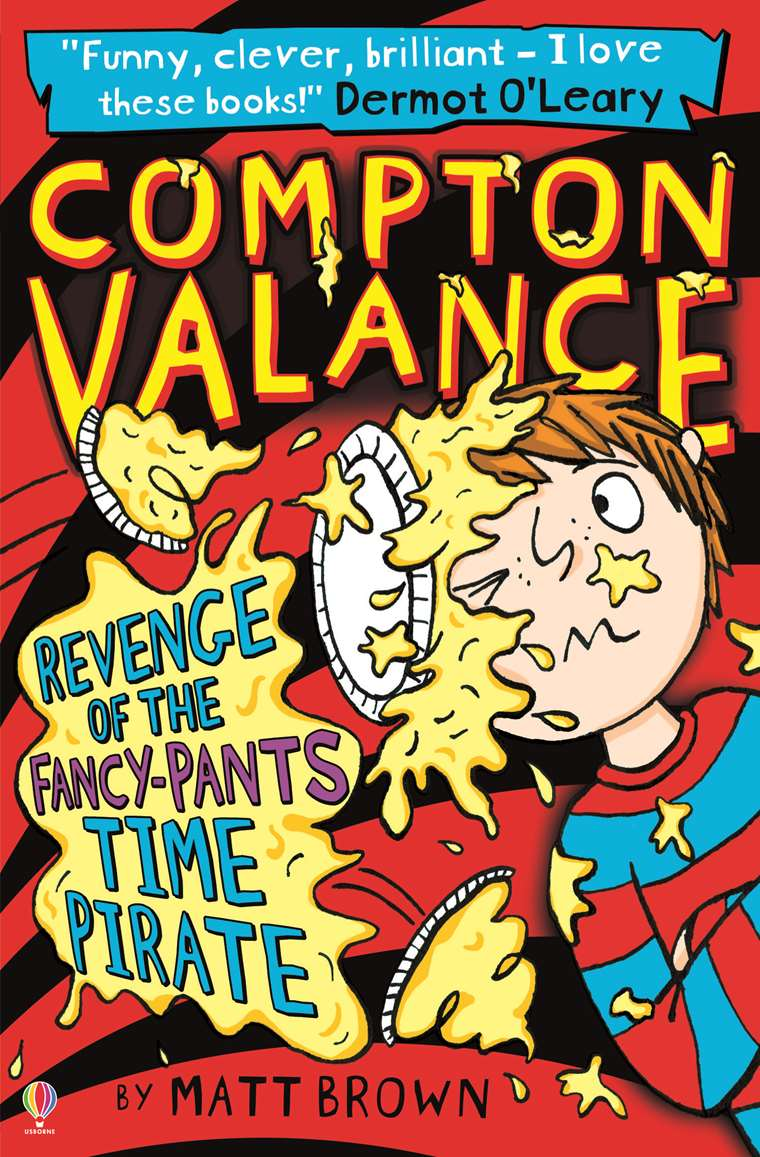 Compton Valance Revenge Of The Fancy Pants Time Pirate At Usborne Sticker Activity Books My Big And Mighty