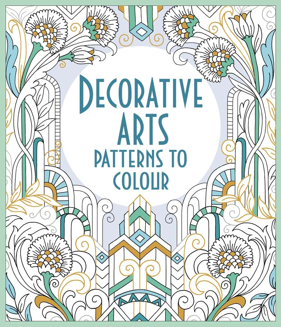 You Might Also Like Art Nouveau Patterns To Colour