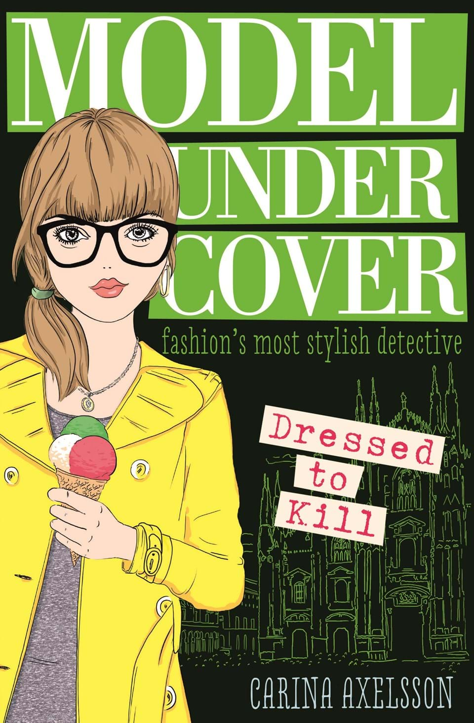 """Book Cover Series Books : """"model under cover — dressed to kill at usborne children"""