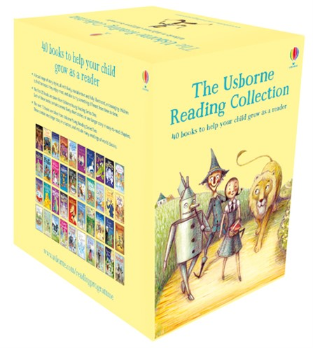 The Usborne Reading Collection 40 Children Books Set boxset Learn to Read NEW AU | eBay
