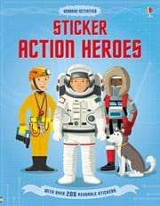 Sticker action heroes
