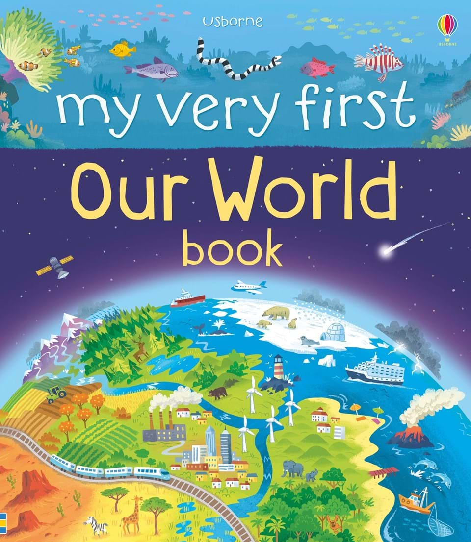My very first our world book at usborne books at home my very first our world book gumiabroncs Gallery