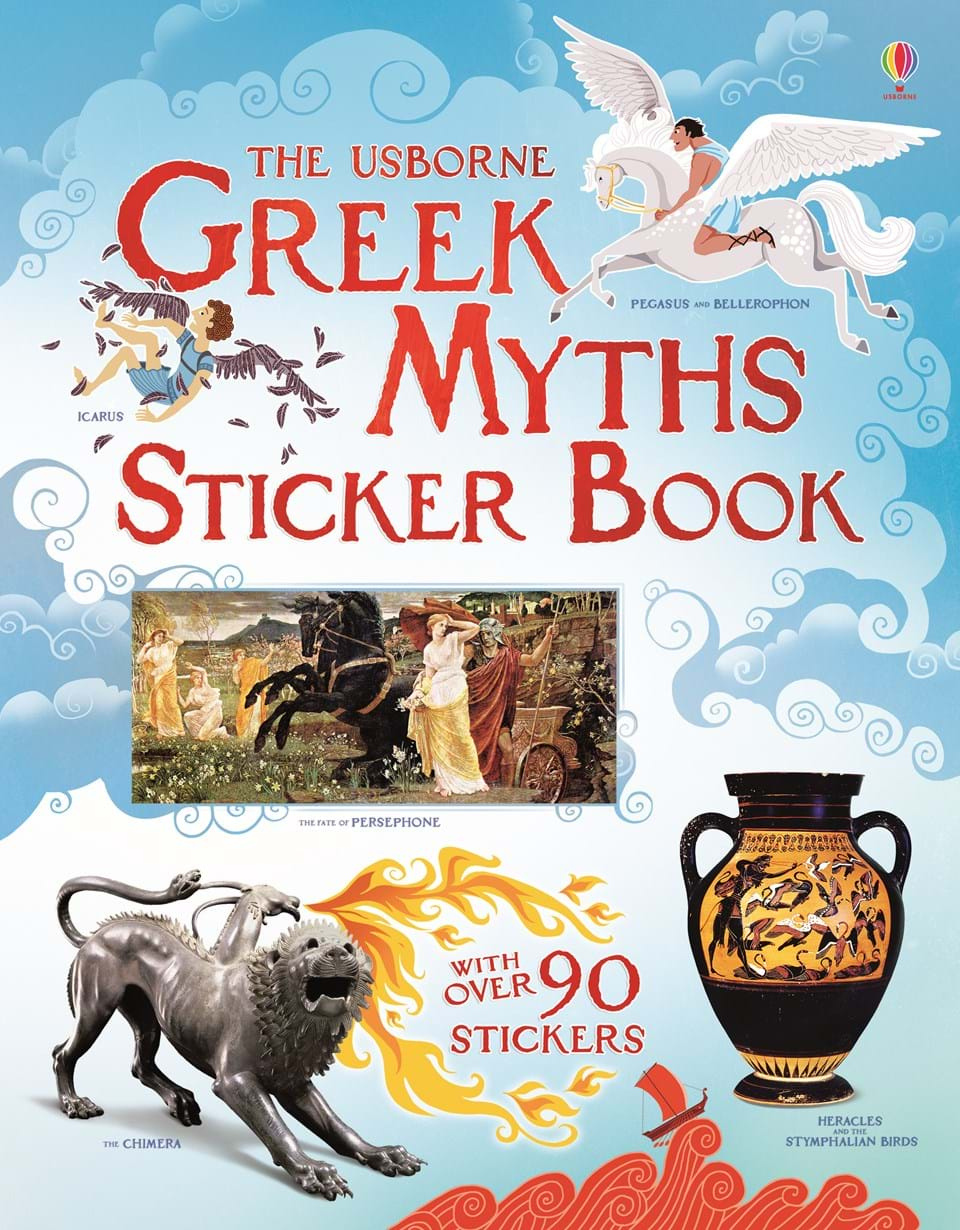 greek myths sticker book u201d at usborne children u0027s books