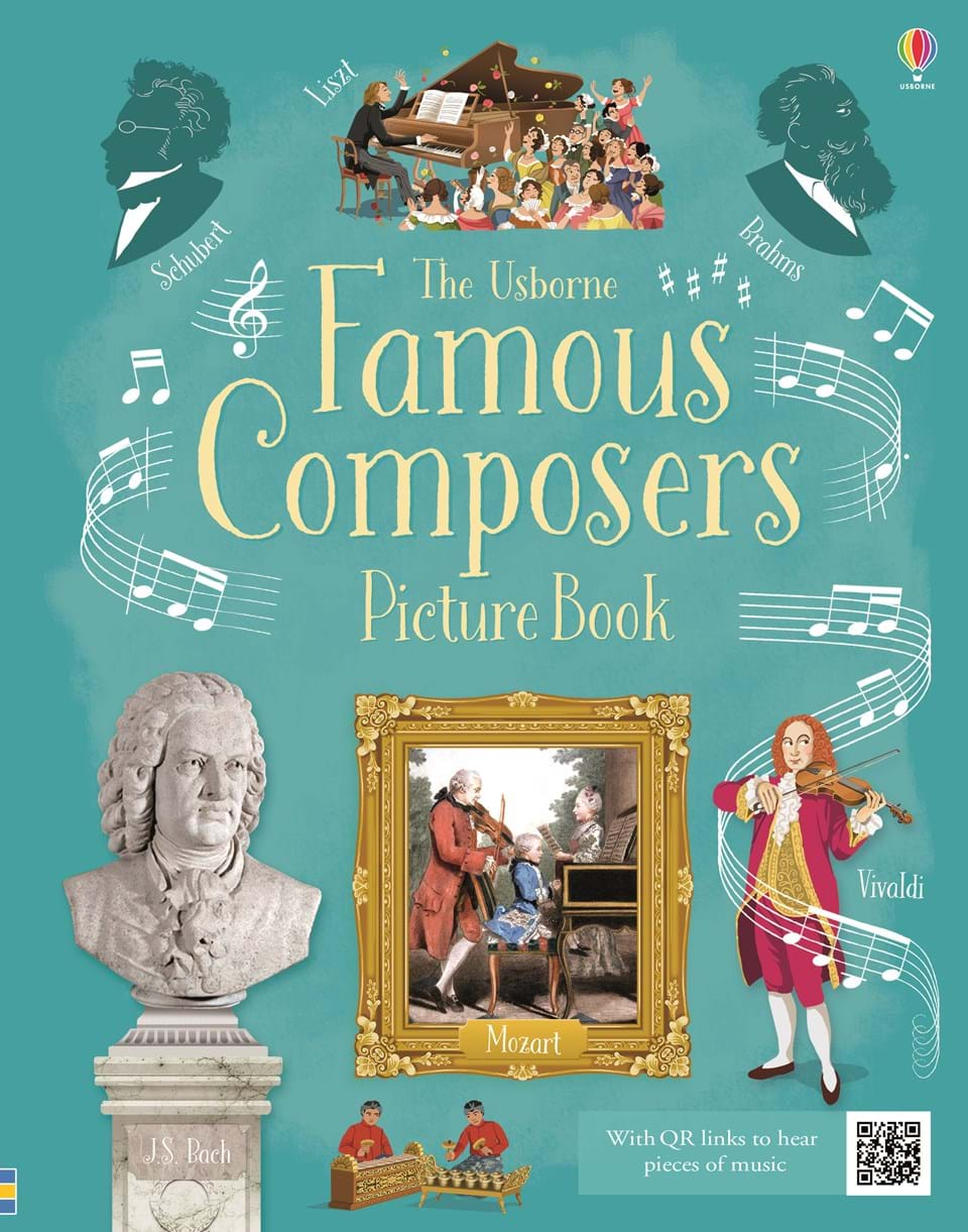 "Famous Children S Book Covers ~ ""famous composers picture book at usborne children s books"