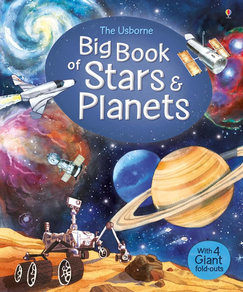 """""""Big book of stars and planets"""" at Usborne Children's Books"""