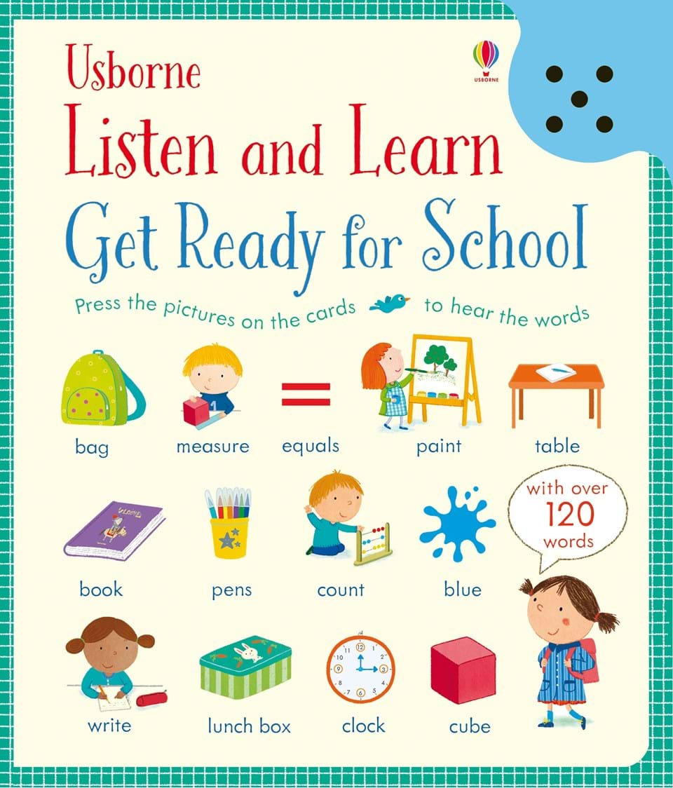 """""""Get Ready For School"""" At Usborne Books At Home"""