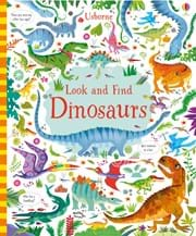 Look and find dinosaurs