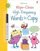Wipe-clean high-frequency words to copy