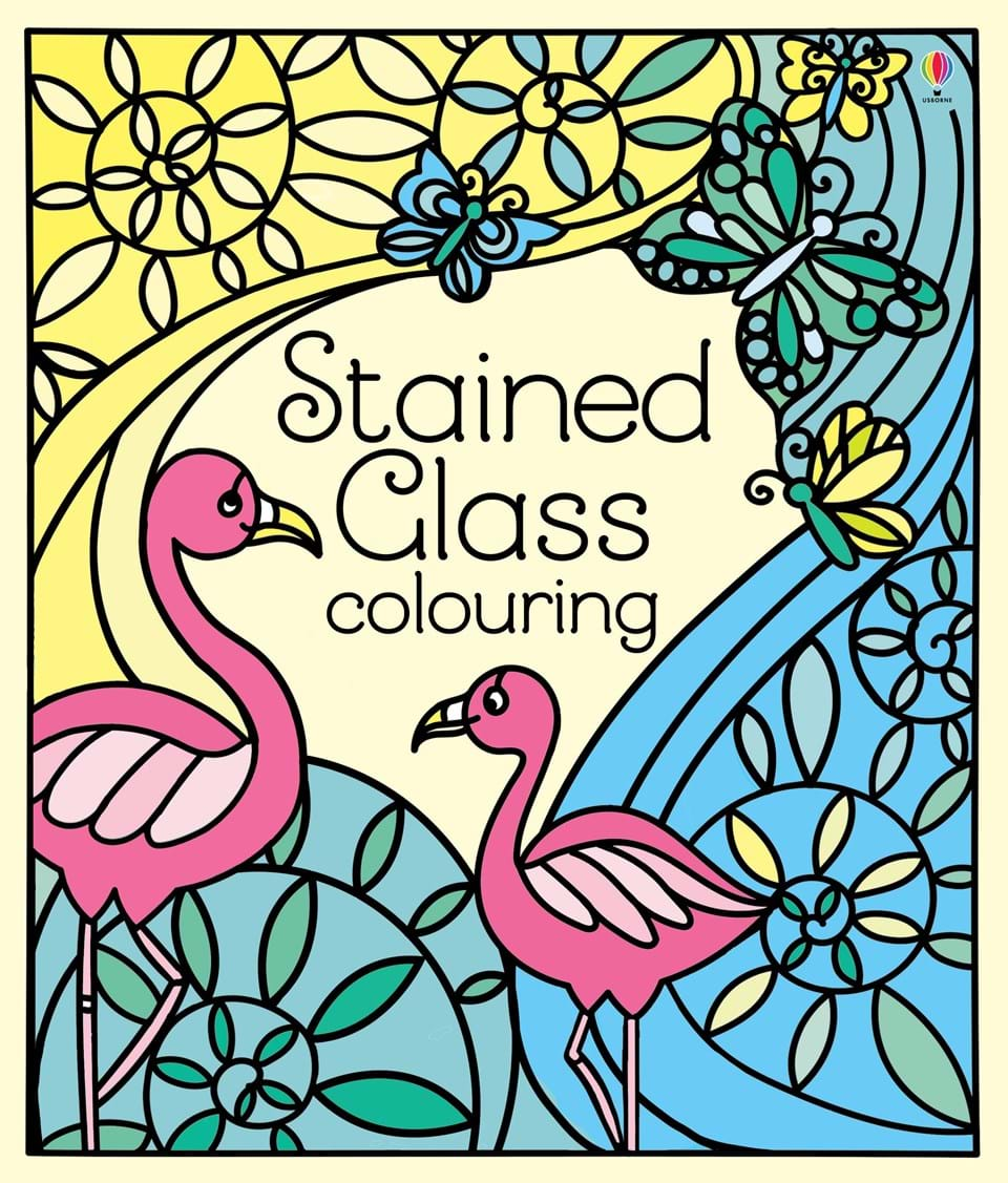 "Stained glass colouring"" at Usborne Books at Home"