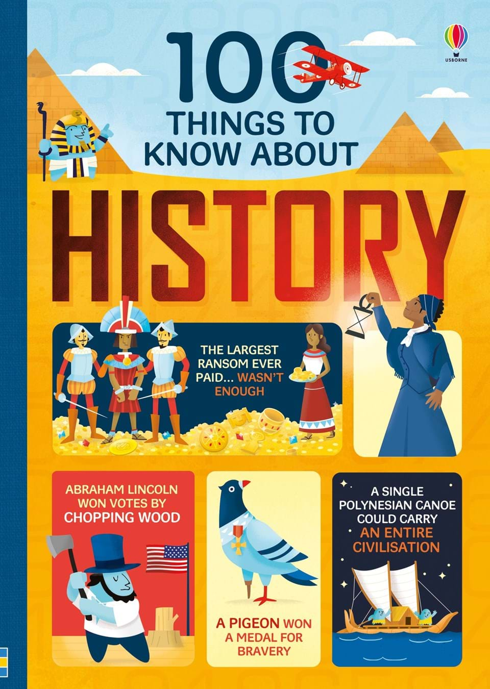 """Food Book Cover History : """" things to know about history at usborne children s books"""