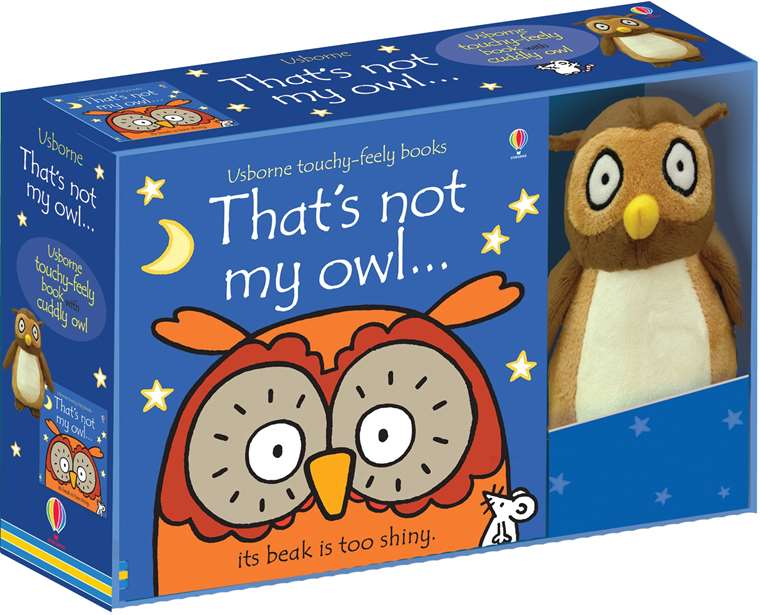 Thats Not My Owl Book And Toy At Usborne Childrens Books