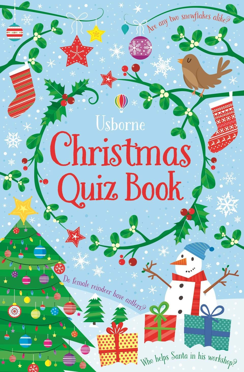 "Children S Book Cover Quiz : ""christmas quiz book at usborne children s books"