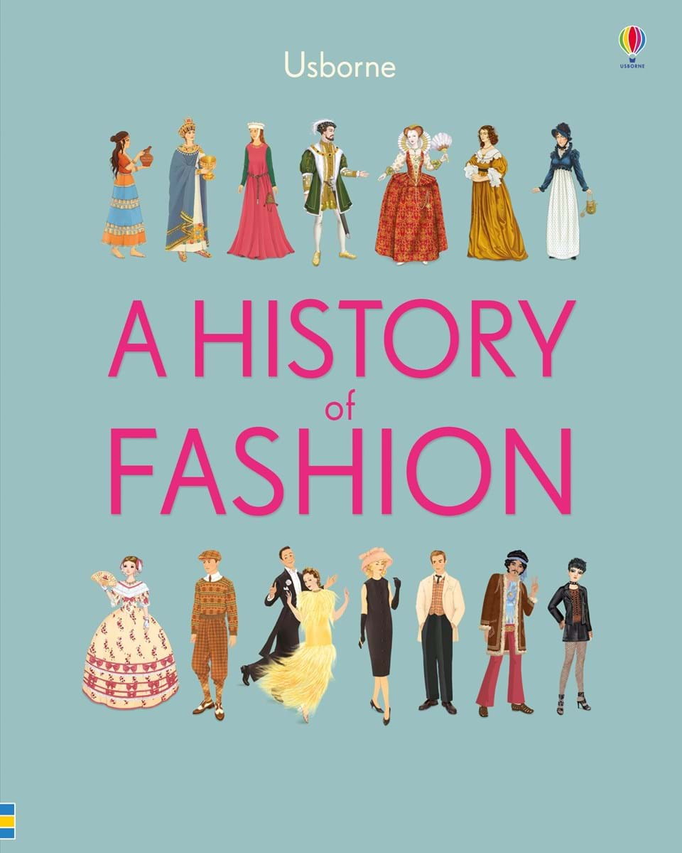 """A history of fashion"" at Usborne Children's Books"