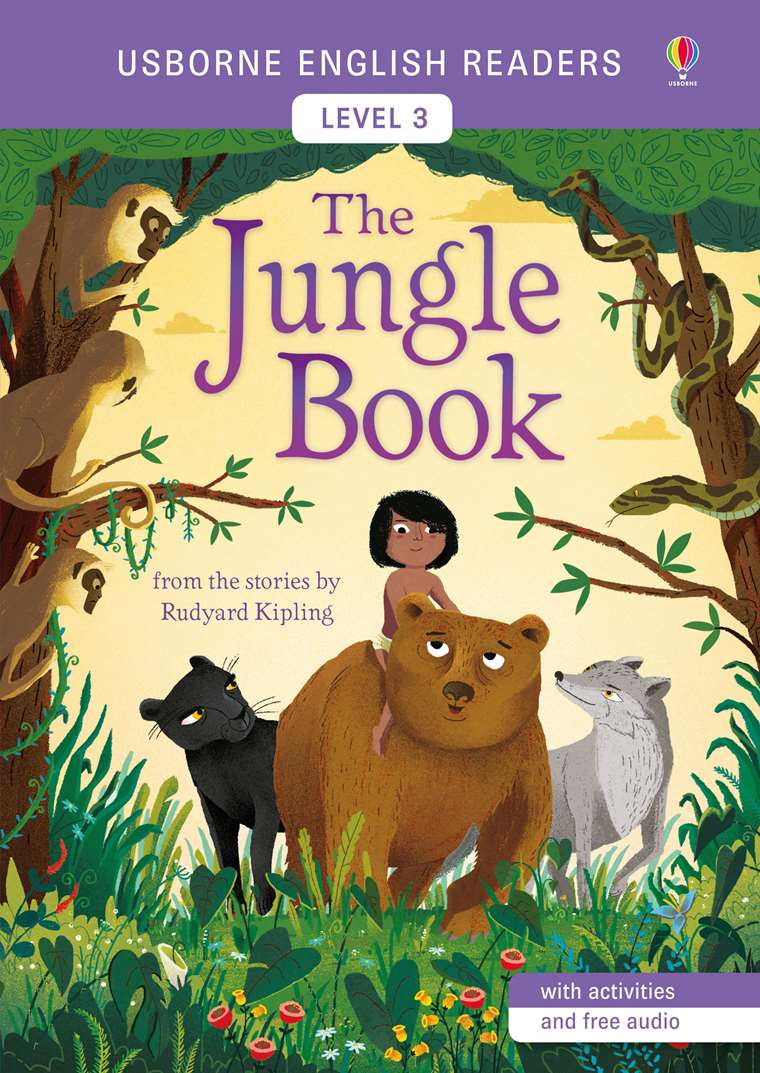 "The Jungle Book"" at Usborne Children's Books"
