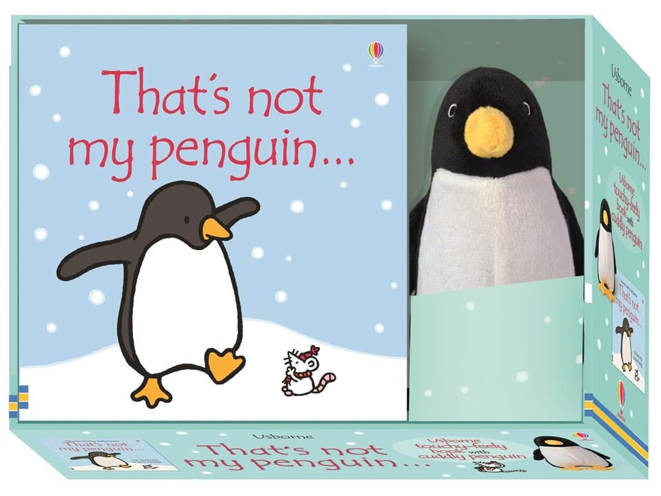 """Penguin Book Cover Gifts ~ """"that s not my penguin book and toy at usborne"""