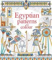 egyptian patterns to colour - Usborne Coloring Books