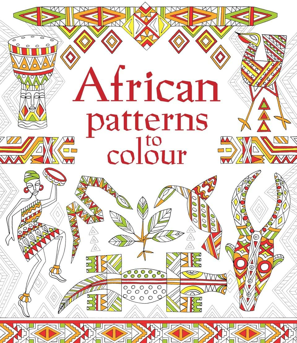 african patterns to colour - Usborne Coloring Books