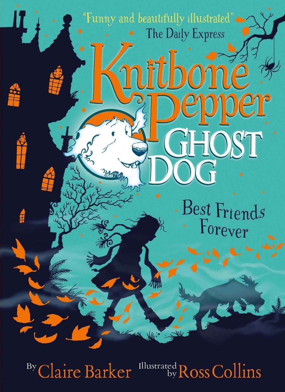 """Best Children S Book Covers : """"knitbone pepper ghost dog best friends forever at"""