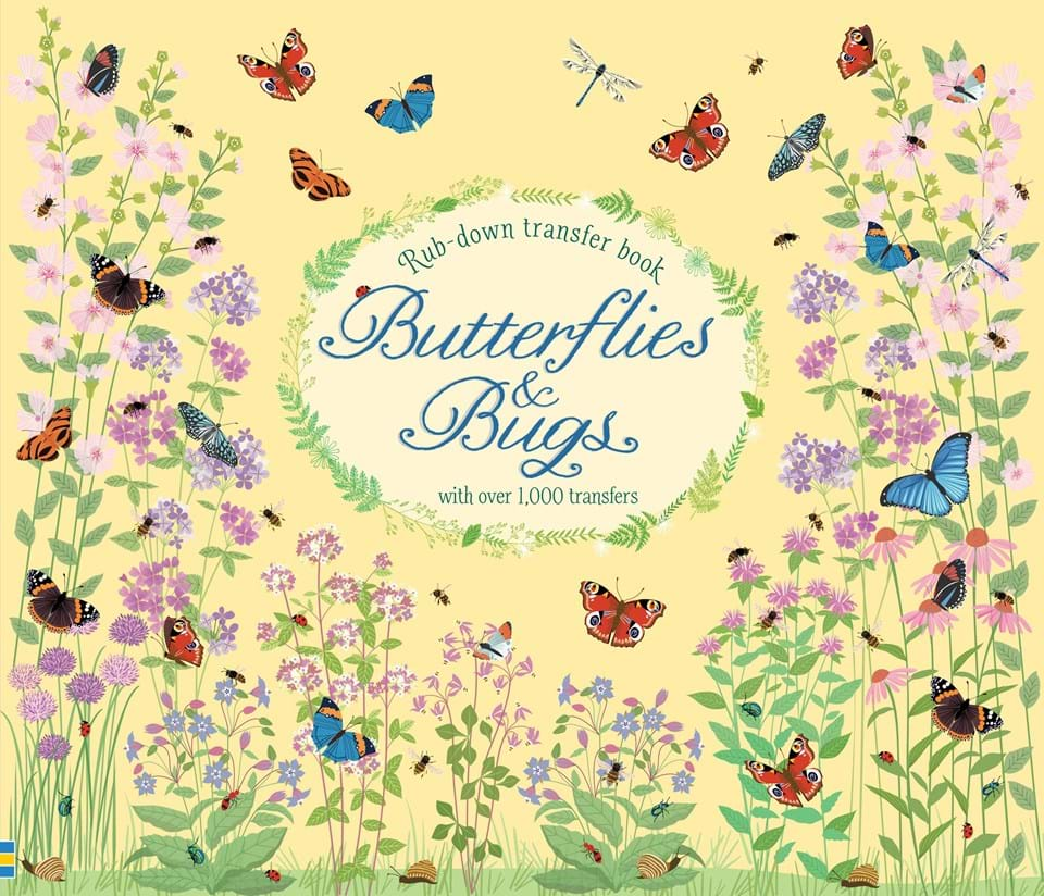 """Book Cover Design Price Uk : """"butterflies and bugs at usborne books home"""