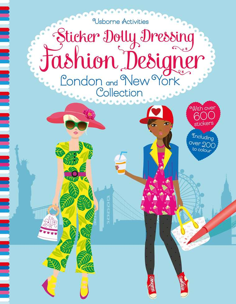 Fashion Designer London And New York Collection At Usborne Children S Books