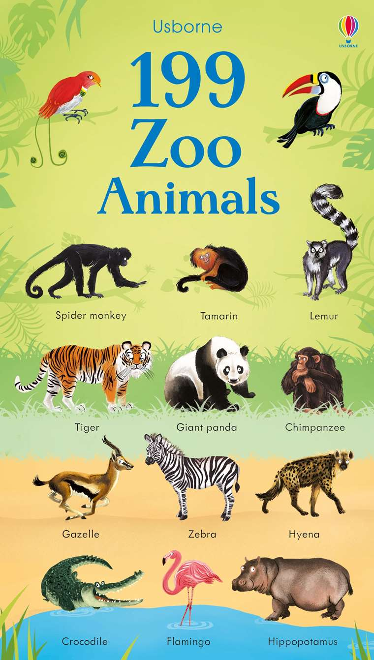 199 Zoo Animals At Usborne Children S Books
