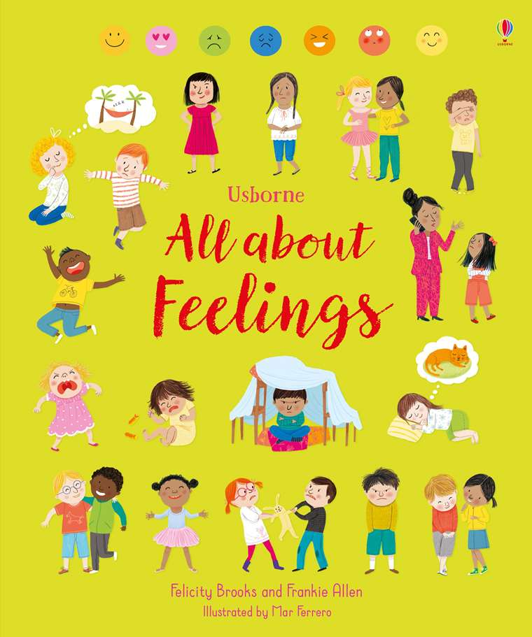 """All about feelings"""" at Usborne Children's Books"""