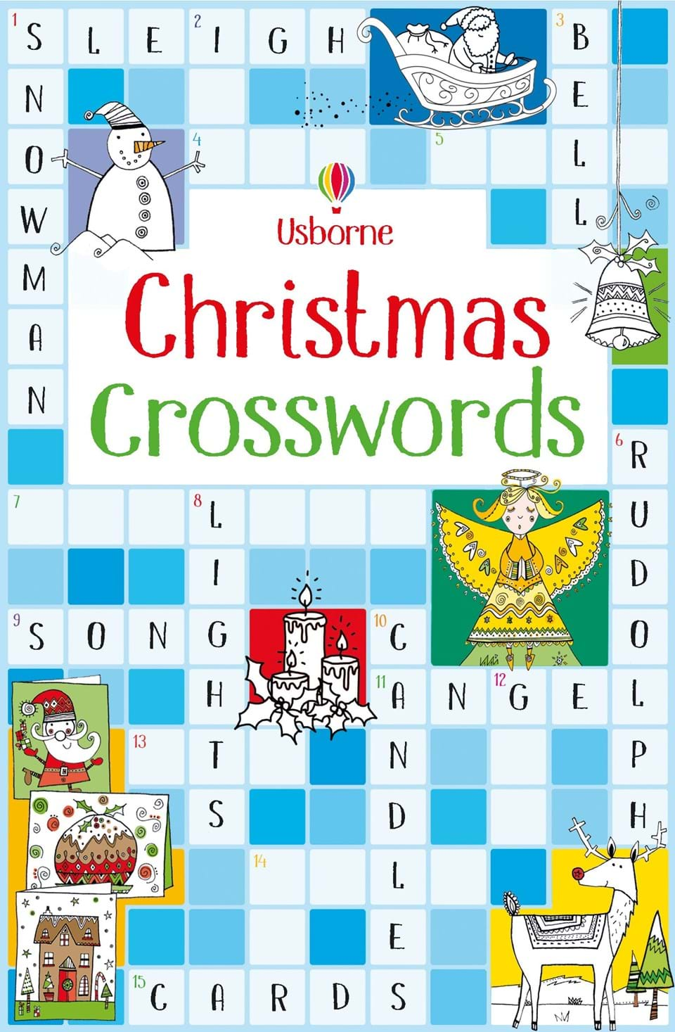 Christmas Crosswords At Usborne Childrens Books