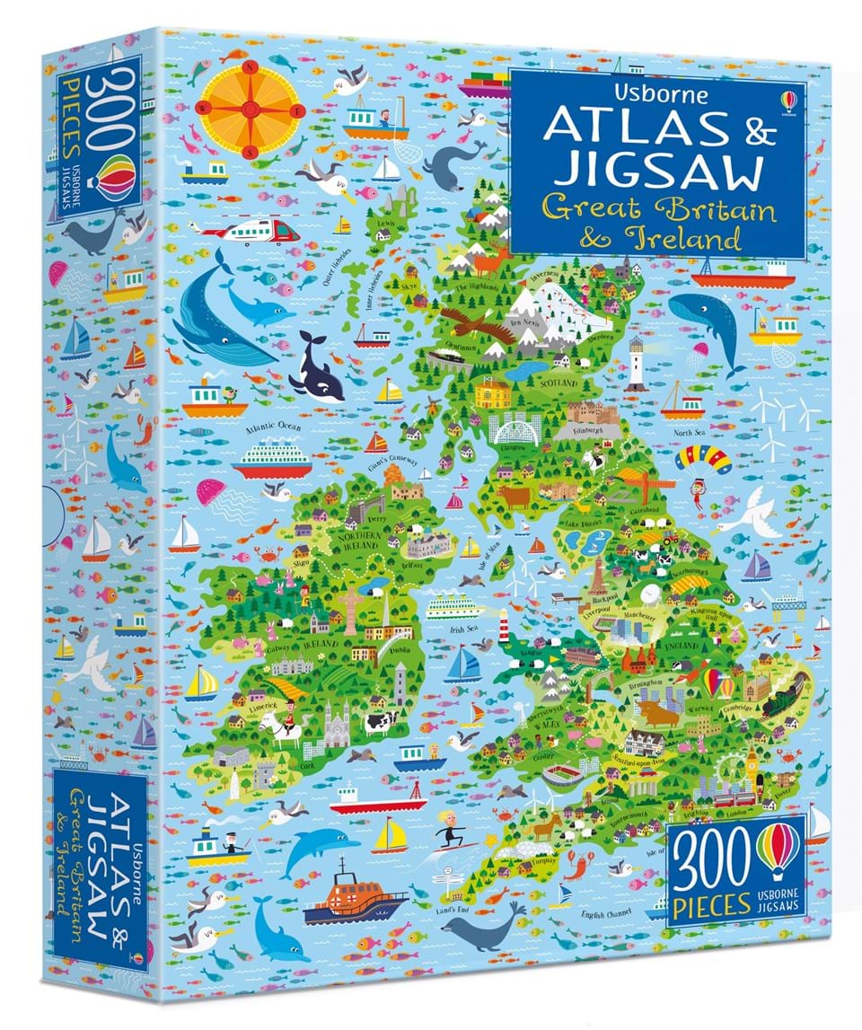 Map Of England For Ks1.Atlases And Maps At Usborne Children S Books