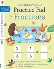 Fractions practice pad 7-8