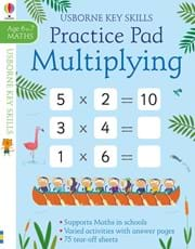 Multiplying practice pad 6-7