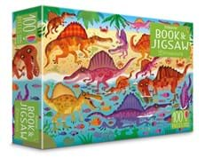 Dinosaurs jigsaw and picture book