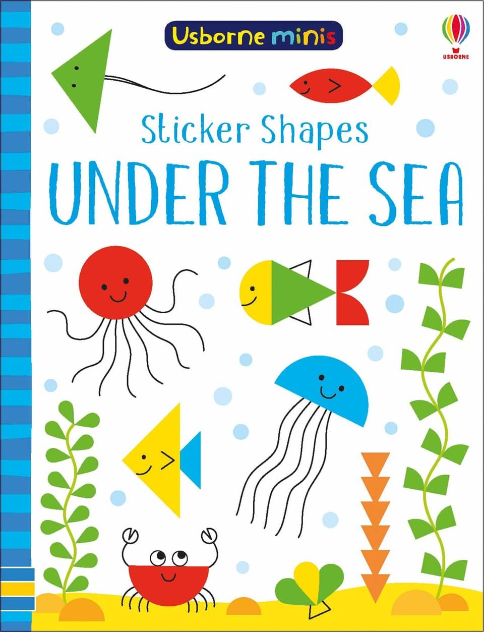 sticker shapes under the sea at usborne books at home