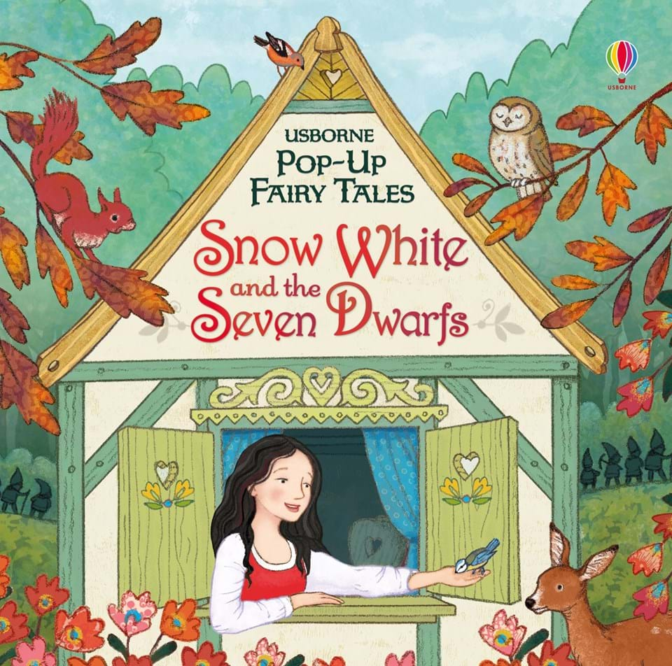 "Snow White and the Seven Dwarfs"" at Usborne Books at Home Organisers"
