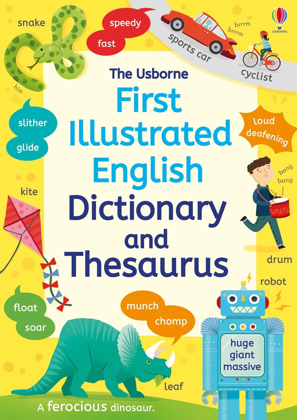 """First illustrated dictionary and thesaurus"""" at Usborne Children's Books"""