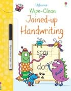 Wipe-clean joined-up handwriting