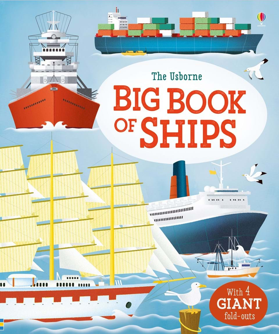 """""""Big book of ships"""" at Usborne Books at Home"""