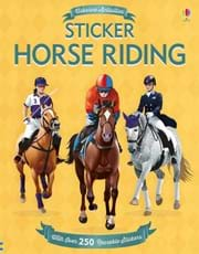 Sticker horse riding