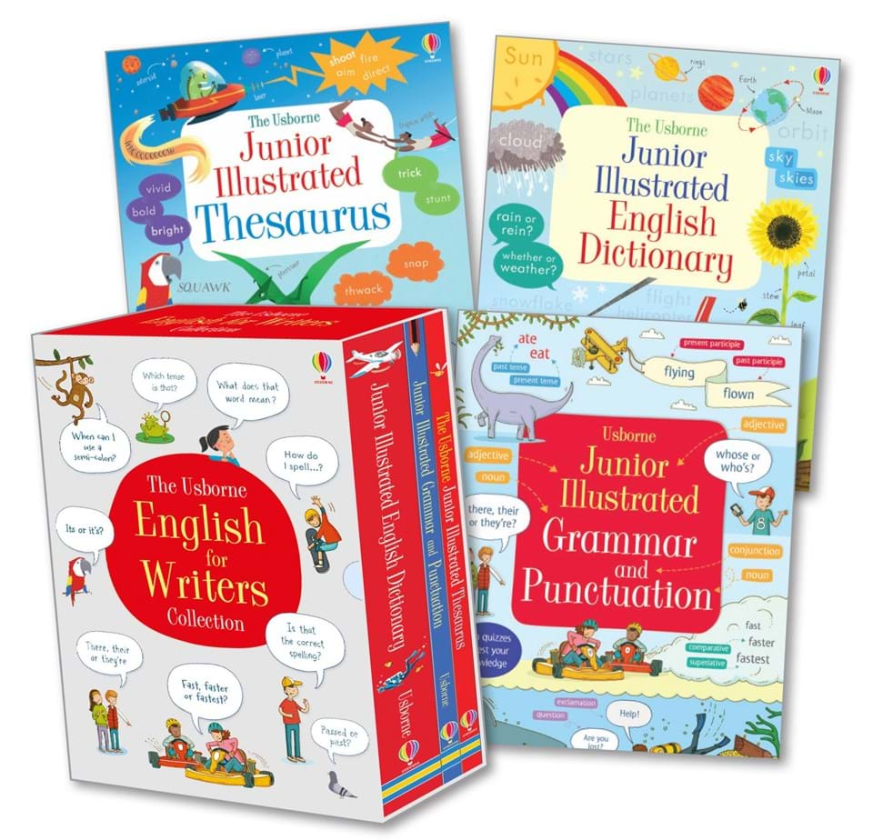 """English for writers box set"""" at Usborne Books at Home Organisers 5449828a4b884"""