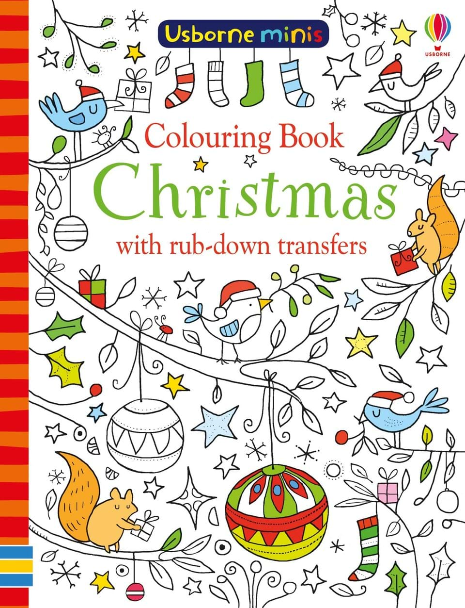 """Colouring book Christmas with rub-down transfers"""" at Usborne Books ..."""