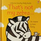 That's not my zebra...